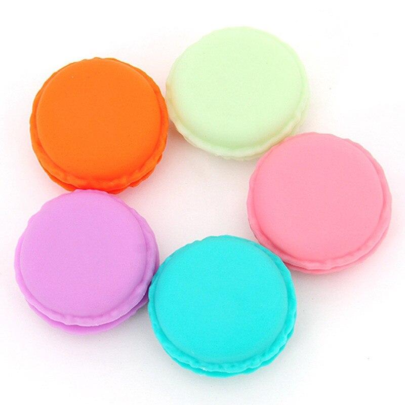 6 шт. Главная Открытый таблетки Драгоценность Коробка для хранения организации случае мини размер Macarons наушники SD карты сумки Box Портативны...