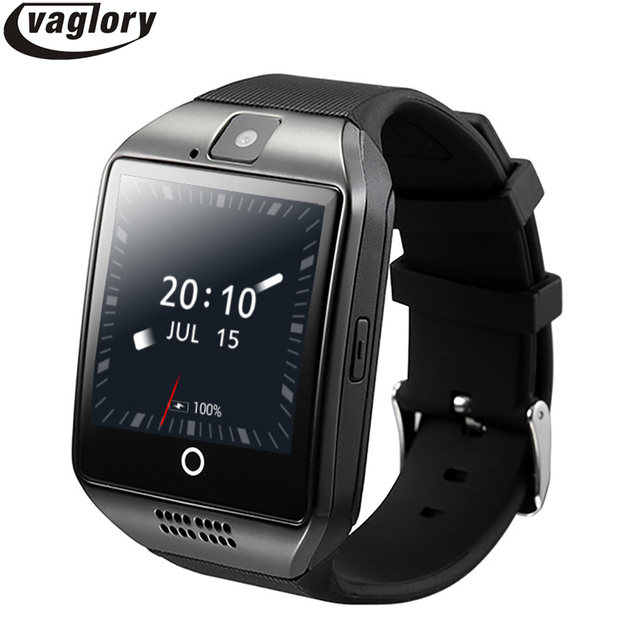 Q18 Plus Smart Watch Android OS  Phone 3G GPS WiFi Wristwatch HD Camera Video Smartwatch 512MB/4G Bluetooth Clock Whatsapp Skype