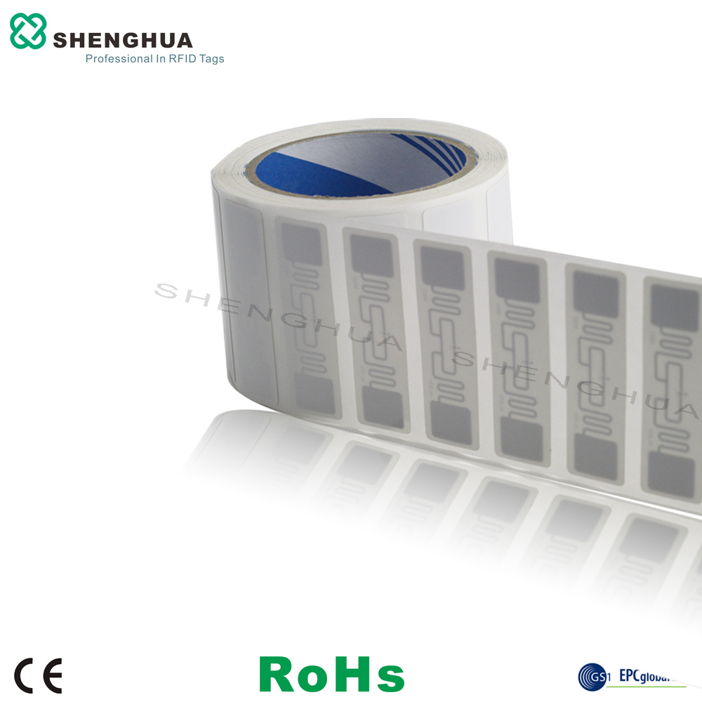1000pcs Roll Disposable UHF Passive RFID Self Adhesive Shipping Label Printable Cheap Tag For Management Security Control In Access Cards From