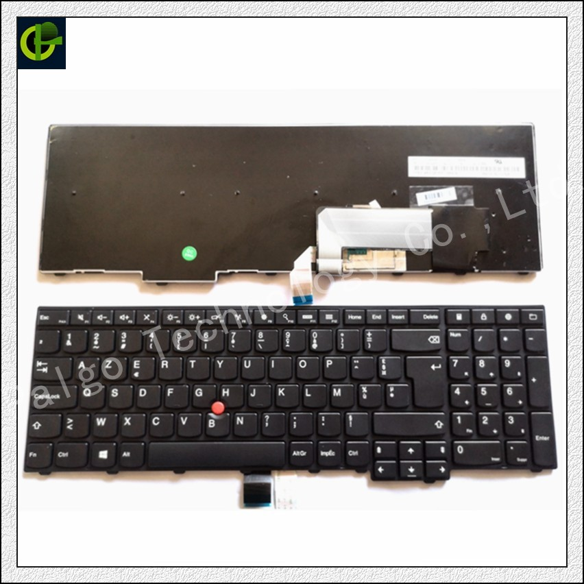 New French Azerty Keyboard For Lenovo ThinkPad W540 W541 W550s T540 T540p T550 L540 Edge E531 E540 L570 0C44913 0C44944 FR