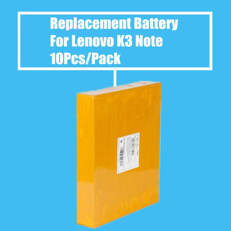 جديد وصول 10 قطعة/الحزمة 2900 مللي أمبير بطارية استبدال لينوفو الليمون k3 ملاحظة K50-T5 جودة عالية