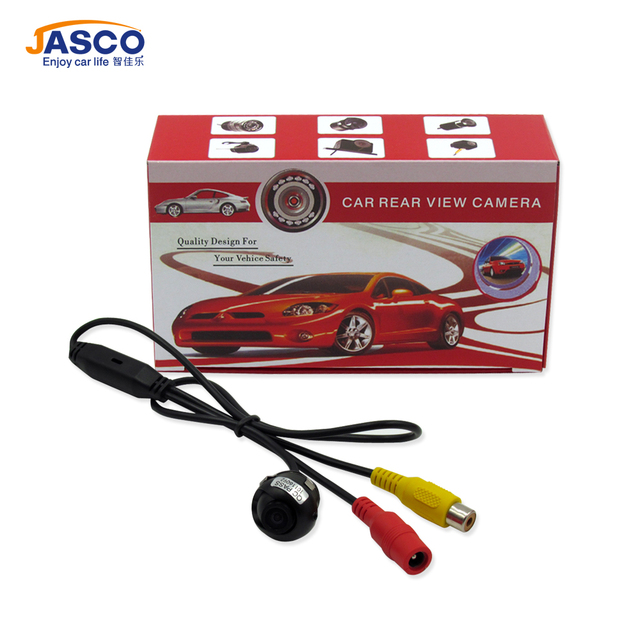 Universal Mini CCD High Definition Night Vision 360 Degree Car Rear Front Side View Backup Camera With Mirror Image Conversion
