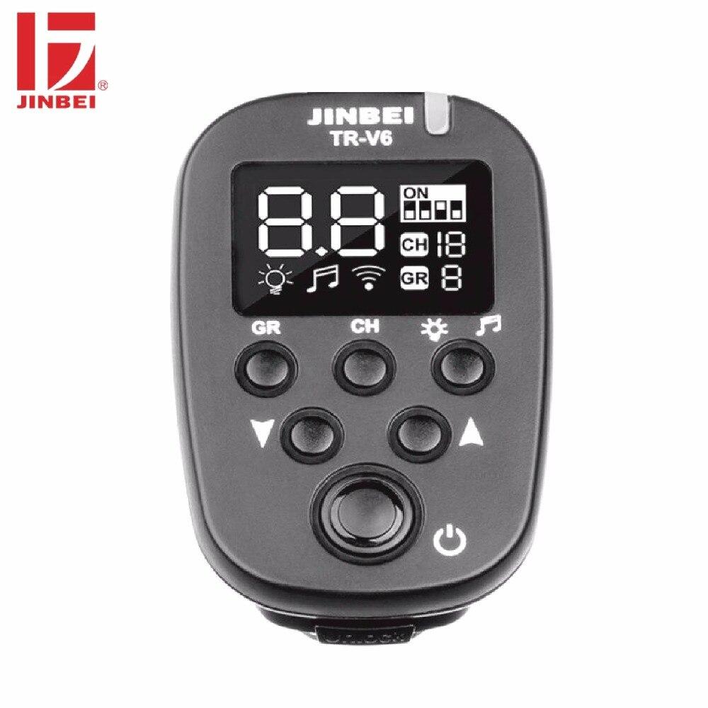 JINBEI TR-V6 Trigger 2.4G Wireless Radio Studio Flash Transmitter Photography Lighting Remote Controller