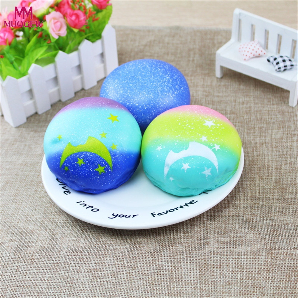 Jumbo Squishy Toys For Children Slow Rising Scented Luky Simulated Moon pastrt Squishy Gift Kawaii Squishies Stress Reliever Toy