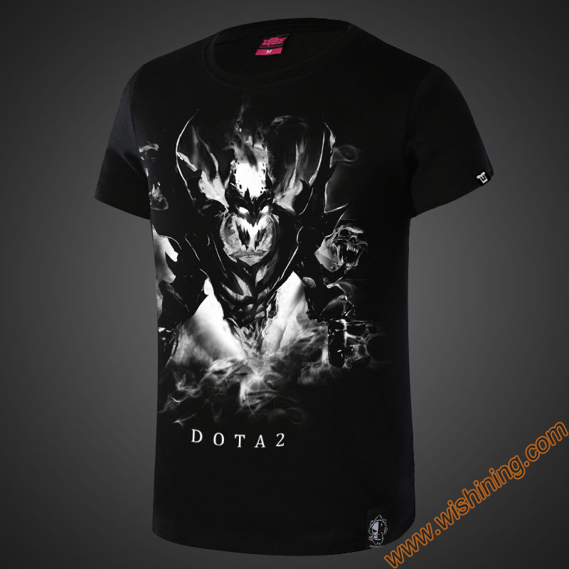 DOTA 2 <font><b>SF</b></font> Shadow Fiend T-shirt DOTA2 Templar Assassin Phantom Assassin Juggernaut Hero <font><b>Tshirt</b></font> Game Nevermore Tee Shirt image