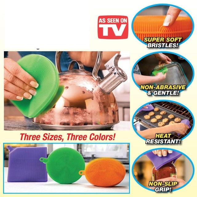 New Better Sponge Anti-Bacterial Kitchen Cleaner Pack Of 3 As Seen On Tv