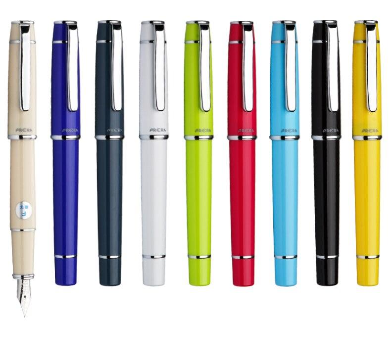 Ofis ve Okul Malzemeleri'ten Dolma Kalemler'de 9 renk Pilot Prera FPR 3SR dolma kalem F/M Ucu kaligrafi kalemi Yazma Malzemeleri Okul ve ofis kalemi'da  Grup 1