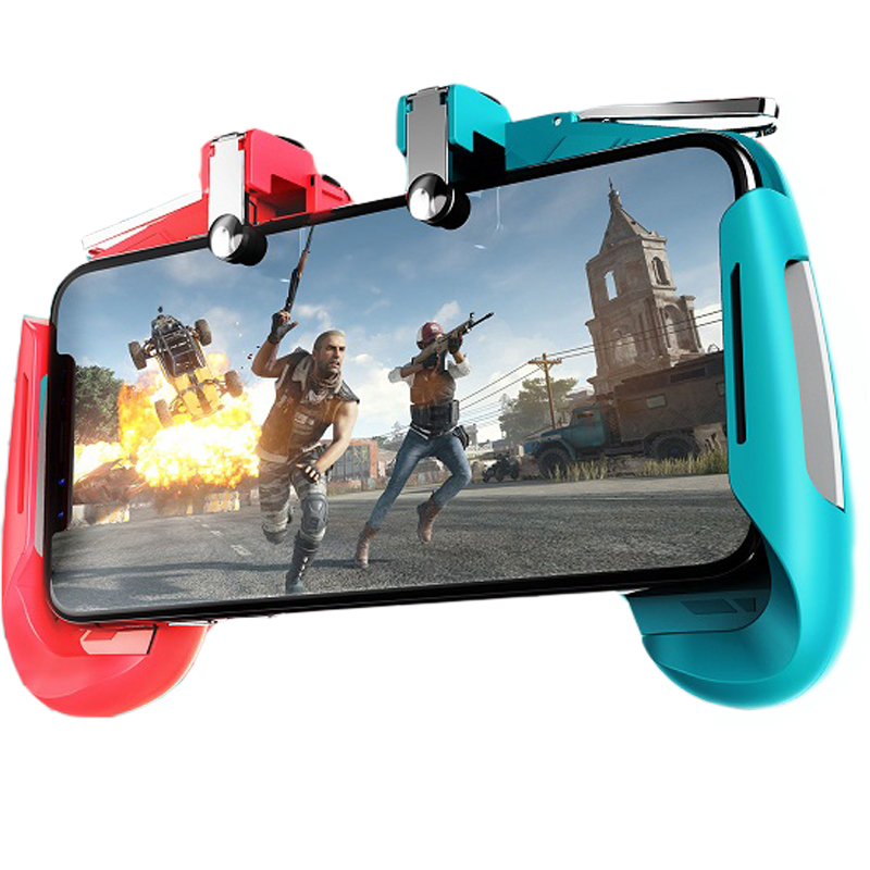 Triggers For Cell Phone Dzhostik PUBG Mobile Joystick Gamepad L1 R1 Fire Button Mobile Game Controller For IPhone Gaming Pad(China)