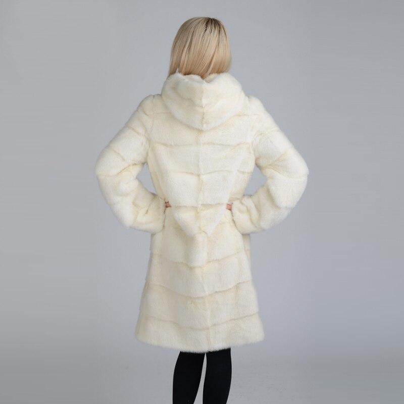 2018new taille 20 Chaud Photo Large D'hiver As Long Véritable Capuche Épais Harajuku De Naturel 12 Fourrure Survêtement Manteau Mode Lapin Femmes Avec TT0qr