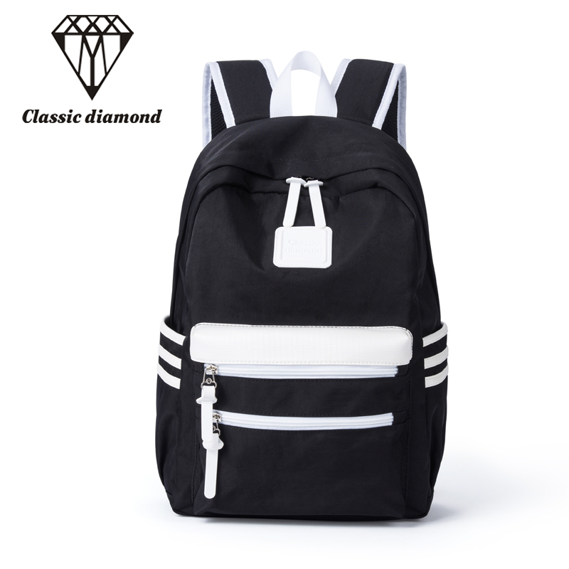 Unisex Waterproof nylon Backpack Women School Bags  Shoulder Bag For Teenage Girls Backpacks Men College Students Travel Bags menghuo casual backpacks embroidery girls school bag female backpack school shoulder bags teenage girls college student bag