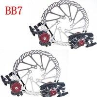 Bike Brake Disc FR7 Avid BB7 Mountain/MTB Road Bicycle Brakes pads V Front Rear HS1 G3 160/180mm rotor Bicycle parts 2018
