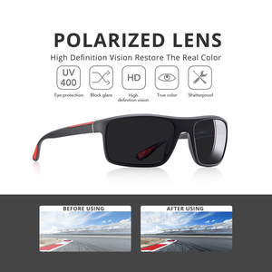 Image 3 - AOFLY Fashion Polarized Sunglasses Men Luxury Brand Designer Unisex Driving Sun Glasses Male Goggles Outdoor Sports with Case