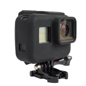 Image 2 - 2000X Soft Rubber Silicone Protective Housing Case for GoPro Hero 6 5 Sport Camera Skin Cases Gopro hero 5 Cover Fundas Coque