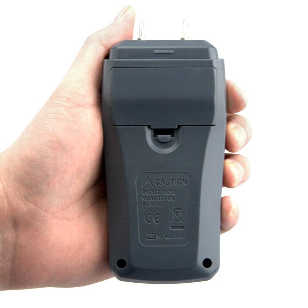 Feuchtigkeit Meter Werkzeuge Emt01 0-99.9% Zwei Pins Digital Holz Feuchtigkeit Meter Holz Feuchtigkeit Tester Hygrometer Holz Damp Detector Große Lcd Display Einfach Zu Reparieren