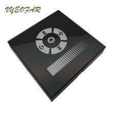 86mm EU standard trailing edge Triac Dimmer Glass touch switch wall Mount AC 110v 220v High Voltage Led Strip TM11E