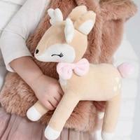 stuffed animal toys 35cm lovely deer plush dolls giraffe plush toys kawaii soft toys for kids valentine birthday Christmas gift