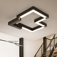 Modern iron LED ceiling lights home living room lamp creative fixtures ceiling lamps children bedroom Ceiling lighting