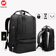 Tigernu Large Capacity 15.6inch Laptop Backpack USB Charger Computer Bag Backpacks for Men Women Business Casual Male Mochila(China)
