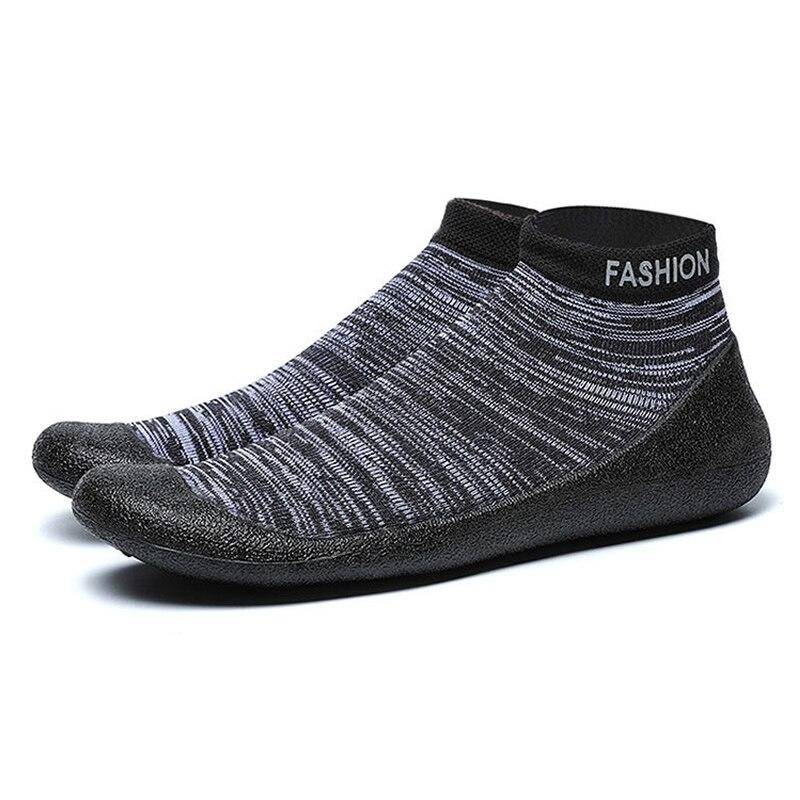 Nouveau Yoga chaussettes chaussures anti-dérapant séchage rapide maison GYM Yoga Fitness Pilates chaussettes chaussures en caoutchouc semelle bonne prise pour hommes femmes size35-45