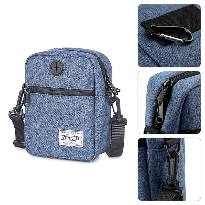 Portable Waterproof Small Bag Oxford Cloth Holder Neck Travel Phone Pouch Bag Multifunction Shoulder Bag