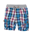 Baby boys shorts summer 2016 Plaid high quality Boys pants baby clothing and kids trousers children pants Retail 2~6 years