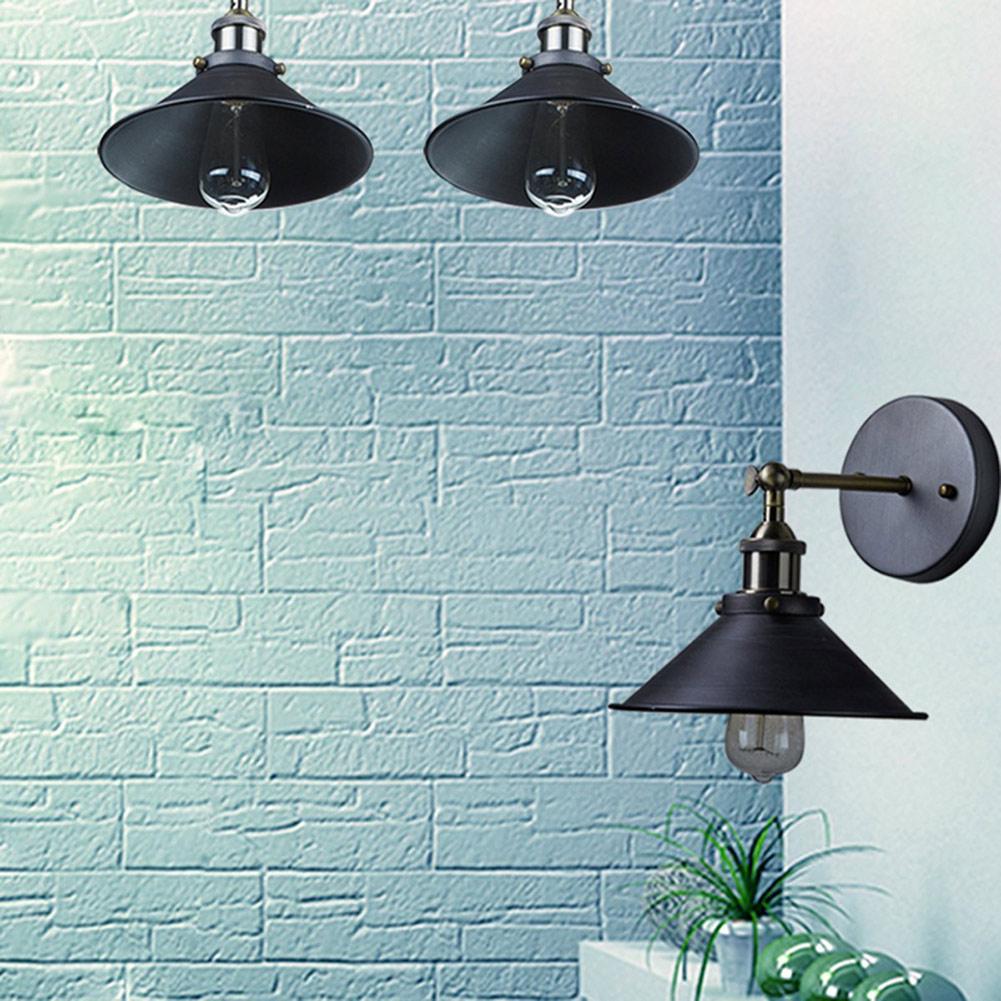 Halogen bathroom lighting - American Loft Industrial Wall Lamps Indoor Lighting Bedside Lamps Wall Lights Bathroom Stair Antique Lamp Luminaria