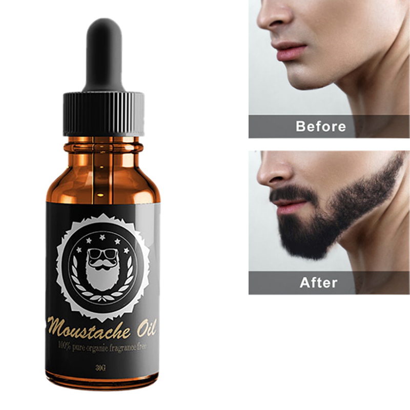 100% Natural Organic Beard Oil Beard Wax balm Hair Loss Products Leave-In Conditioner for Groomed Beard Growth rfty