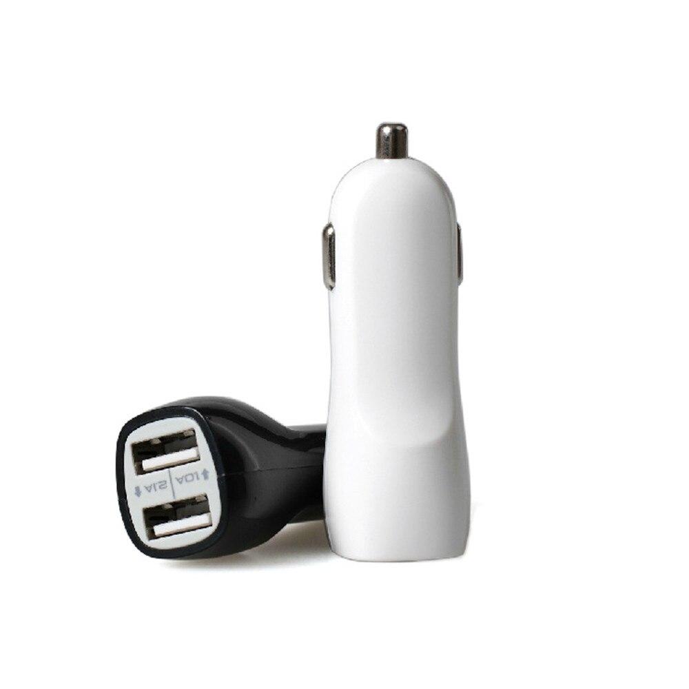 1 StÜck Universal 3.1a Mini Dual 2 Port Usb Car Charger Adapter Für Iphone 7 6 Für Ipad Smart Mobile Handy Großhandel Dropship Clear-Cut-Textur