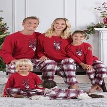Семейная Одинаковая одежда модный костюм для родителей и детей