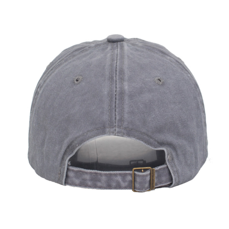 Baseball Cap Washable Old Baseball Hat New Men and Women Europe The United States Simple Outdoor Leisure Hiking Visor Cap