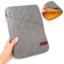 Computer Office - Tablet Accessories - Nylon Shockproof Tablets Sleeve Pouch Bag Case For Funda Apple IPad Air 1/2/3/Pro 9.7/10.5 New IPad 9.7 Inch Cover Coque House