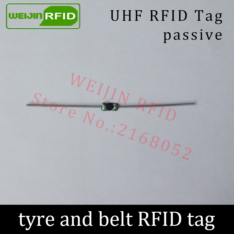 UHF RFID tyre tag EPC Gen2 ISO18000-6C 915mhz 900mhz 868mhz 860-960MHZ 90*4mm Alien Higgs3 passive RFID belt tag iso 18000 6c epc gen 2 passive alien h3 uhf rfid tag for waste bin management 1000pcs lot