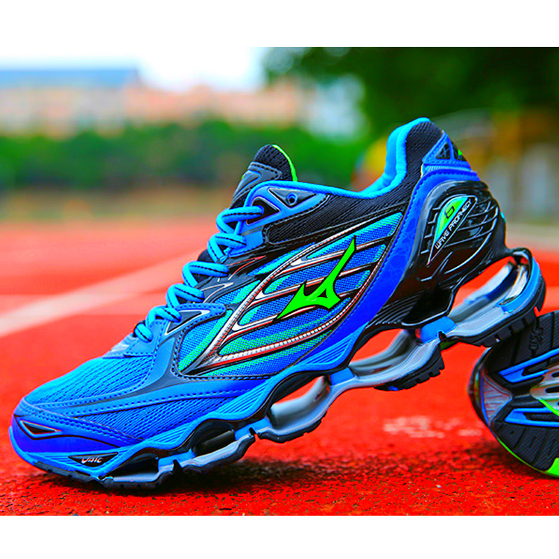 Mizuno Wave Prophecy 6 Professional Men Shoes Hot Sale Stable Sports Running Shoes For Men Blue