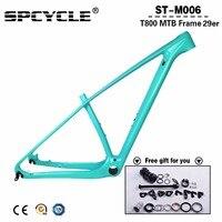 Updated 2019 Full Carbon MTB Bicycle Frames,29er/27.5er MTB Mountain Bike Carbon Frames 15 17 19 21 Thru Axle 142*12mm
