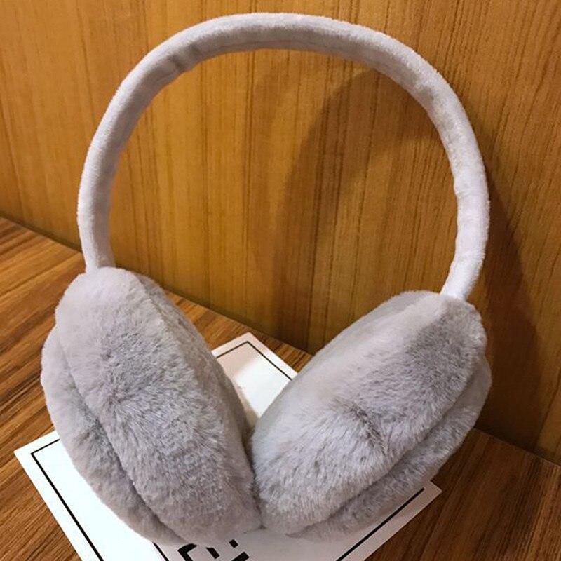 100% QualitäT 2018 Neue Mode Niedlichen Winter Ohrenschützer Frauen Für Frauen Mädchen Pelz Ohrenschützer Wärmer Winter Komfort Warme Winter Ohrenschützer