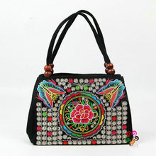 4b93a20426d8 New Coming Multil Vintage Hmong Tribal Ethnic Top-Handle bags!Hot Cute  Handbags Women bag linen embroidery Handbags Tapestry