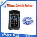 125 KHz RFID teclado sistema de controle de acesso à prova d ' água para casa / escritório