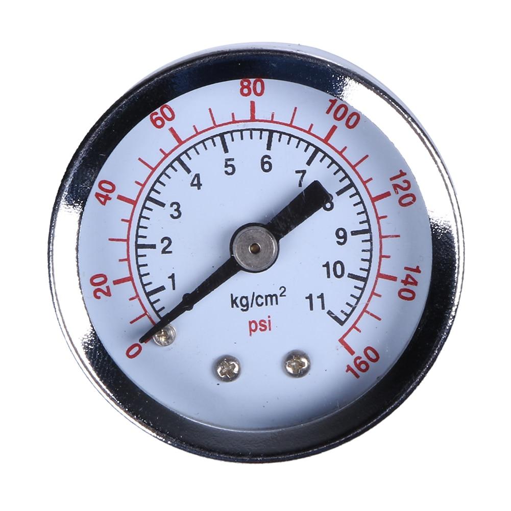 Hydraulic Pressure Meter : Quot npt mini pressure gauge air compressor hydraulic