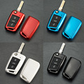 2016 New Casual Design Portable Mini Size Car Key Case Cover Plastic Key Protective Cover For Volkswagen Golf 7 Easy Carry Hot!
