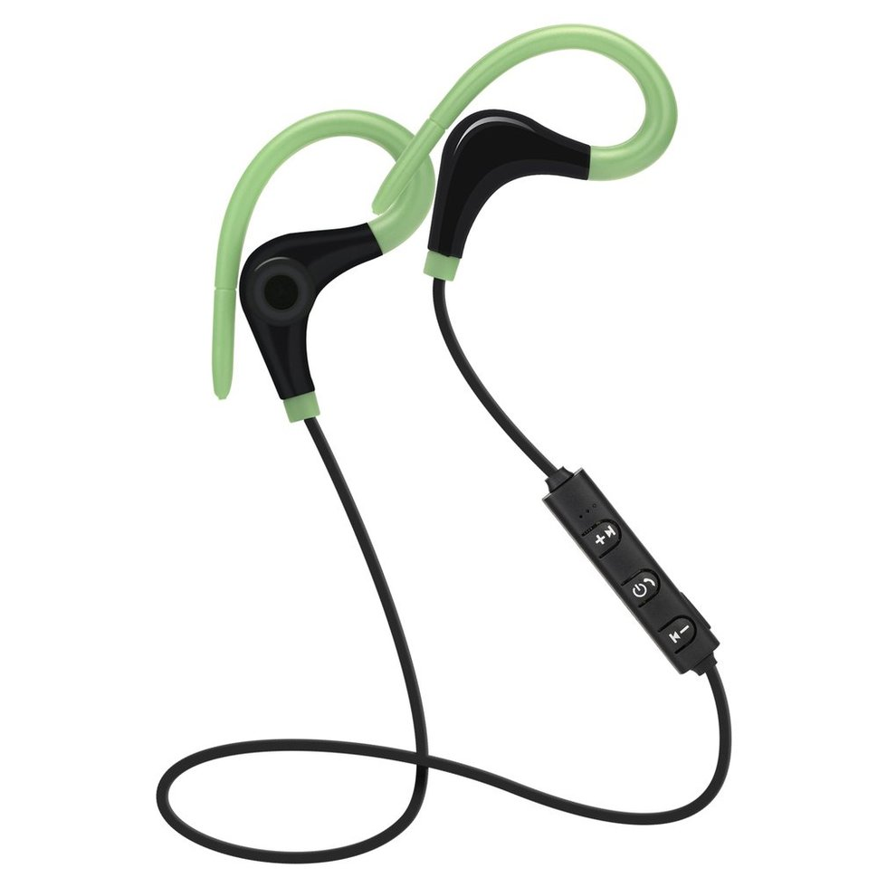10PCS Bluetooth Headphones V4.1 Stereo Bass Sport Running Wireless Headset Ear Hook Earphone For Xiaomi Samsung original s6 wireless headset bluetooth 4 2 stereo ear phone headphones earphone sport bluetooth headphone for iphone samsung