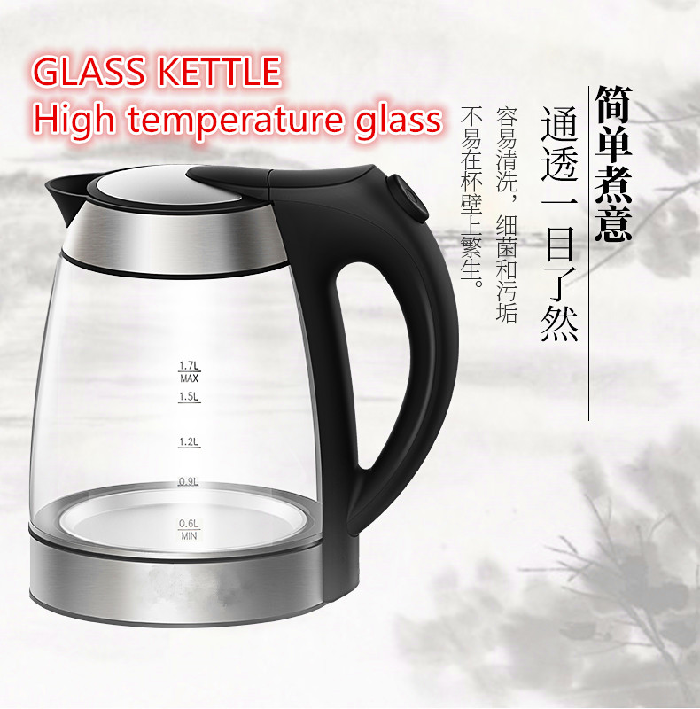 Image 5 - electronic thermostat insulation glass electric heating kettle teapotelectric heating kettleheating kettleelectric kettle teapot -