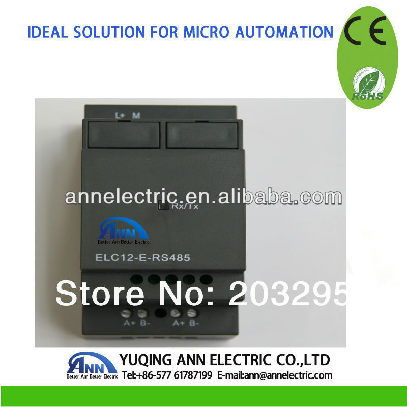 ELC12-E-RS485,Standard ELC-12 Series Expansion Modules for PLC ,isolated 485 converter elc12 e 8dc da r standard elc 12 series expansion modules 4 input 4 output