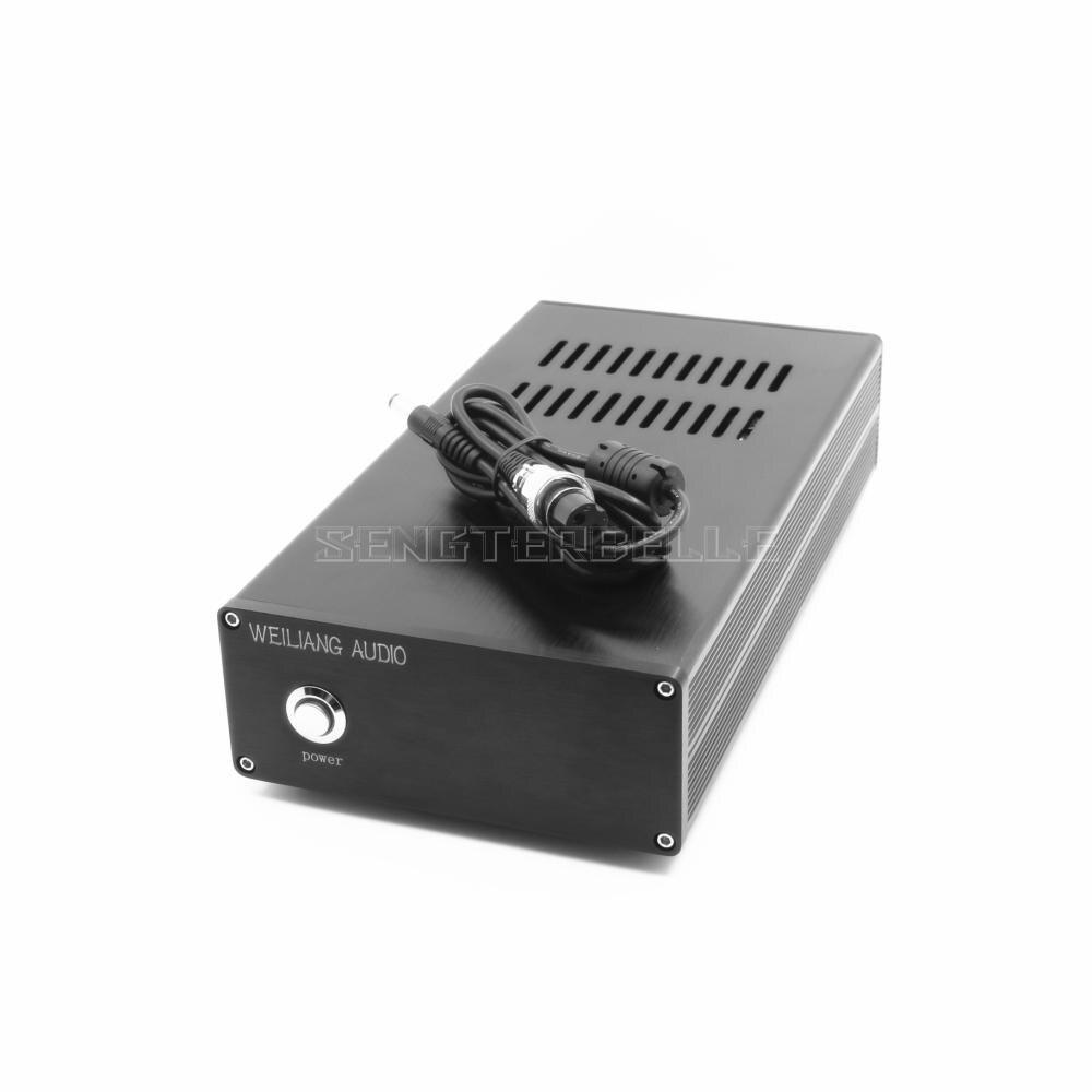 Черный 120VA DC Линейный Питание постоянного тока выход 5V 9V 12V 15V 18V 24 V, Hi Fi, БП можно выбрать - 6