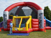 Giant outdoor inflatable defender dome inflatable sport game equipment on sale