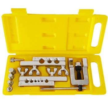 9pcs/set Steel Material Tube Expander Para Multitool kit Tools Car cooling Service tool fitting Flaring combination tool set