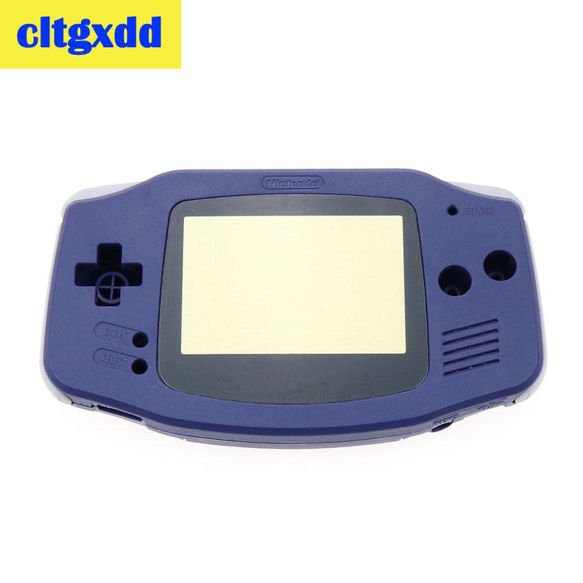 Cltgxdd Full Parts Replacement Housing Shell Pack For Nintendo Game Boy GBA Clear Blue Game Console Shell Casing