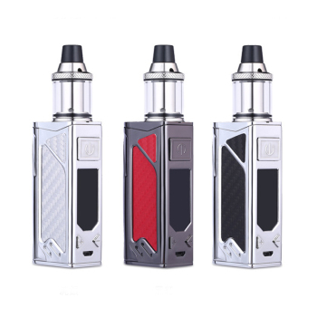 2pcs HT 100W box mod bulit-in 2200mah battery with 3.5m atomizer LED screen vapor mod electronic cigarette vape kit electronic cigarette jsld 150w adjustable vape mod box kit 2200mah 0 3ohm battery 3ml tank e cigarette big smoke vs jsld txw kit