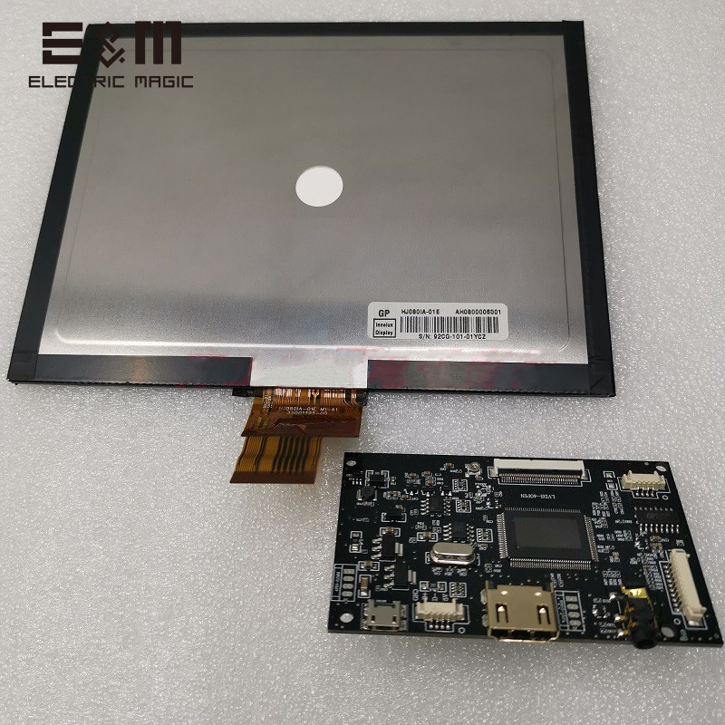 8 inch 1024*768 Capacitive Touch Screen 4:3 Monitor Module IPS LCD Display for LINUX Windows 7 8 10 Android Raspberry Pi Pakistan
