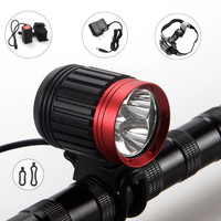 10000LM Rechargeable Bike Bicycle XML T6 LED Front Head Light Headlamp AUGUST2