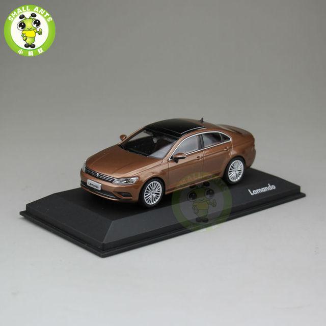 1:43 Escala Diecast Juguetes Modelo de Coche VW Volkswagen lamando marrón